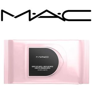 • MAC Gently Off Wipes + Micellar Water